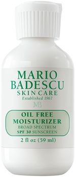Not eco but one of the best lines out there!  Oil Free Moisturizer SPF 30 from Mario Badescu Skin Care via mariobadescu.com