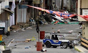 5/30/17 Philippine army battles to contain Isis attacks from spreading to second city  Curfews and heavy military presence in Iligan, a city of 350,000, amid fears Islamist militants may seek to expand conflict