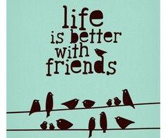 My Friend, Inspiration, True Friends, Life, Best Friends, Quotes, Better, Friendship, Birds