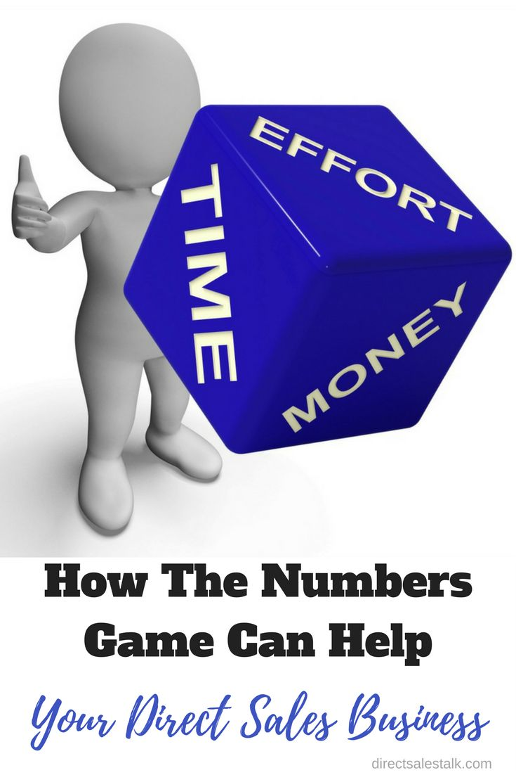 How The Numbers Game Can Help Your Direct Sales Business