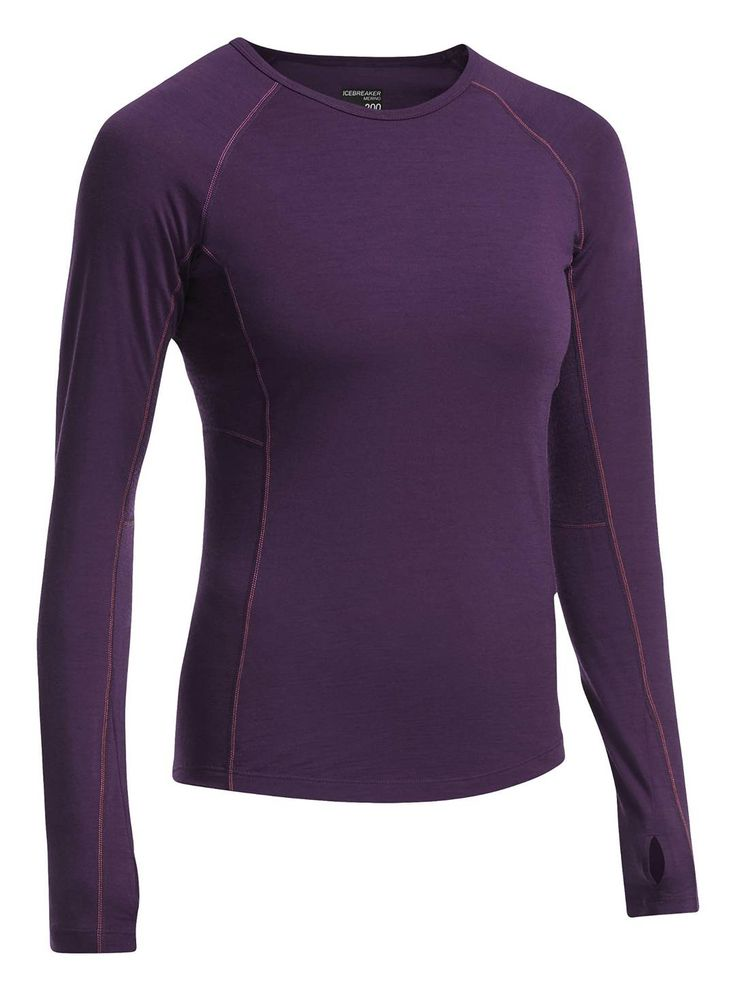 The Icebreaker Zone Long Sleeve Crewe is the ultimate cooling base-layer top. A stretchy merino base-layer shirt ideal for warmer and cloudless days on the mountain. The Long Sleeve features BodyfitZONE™ construction which helps regulate temperature from the alpine to the valley during stop-and-go days. Buy the base-layer at CAN-SKI.