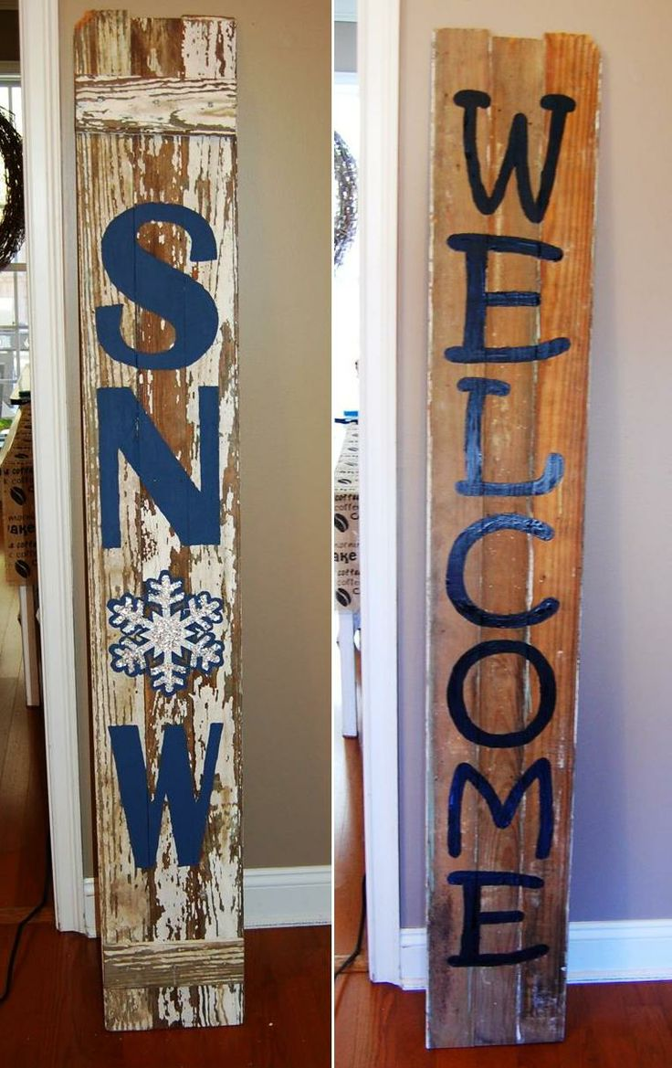 Porch signs welcome my porch barn wood quot what happens on the porch - Porch Sign Made With Three Pieces Of Barn Wood And Painted On Both Sides