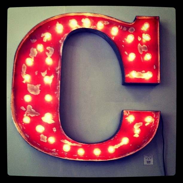 Alphabet Letters The Letter C Typography Letters
