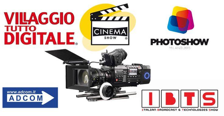 25/10 h16.30 all' IBTS di #Milano Panasonic Varicam 35 a confronto con RED EPIC DRAGON, ARRI ALEXA, SONY PMW-F55