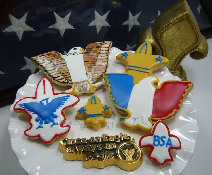 Eagle Scout cookies for Boy Scout Court of Honor ...