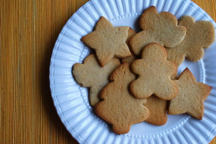 The Spinach Spot: No-Sugar Christmas Cookies DF and GF