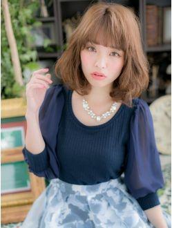 カバーヘア ブリス 上尾店(COVER HAIR bliss)*+COVER HAIR+*…美人顔を作る!ひし形シルエットセミディa