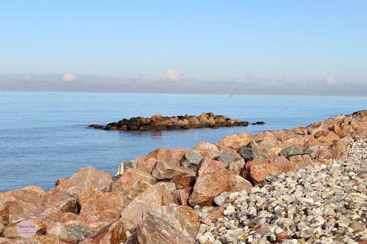 Stranden Trekanten Hundested Havets Sus - Denmark