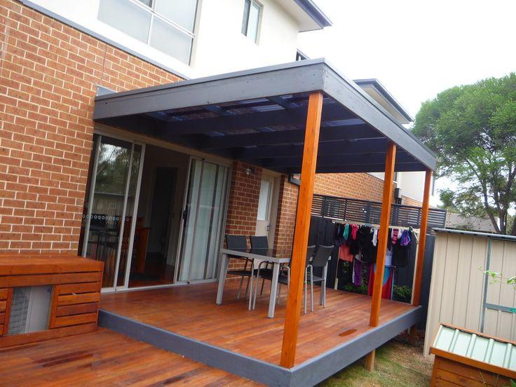 Merbau split level deck & pergola - Simply Carpentry, Carpenter, Watsonia North, VIC, 3087 - TrueLocal