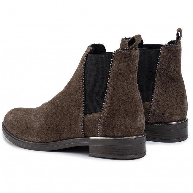 Sztyblety Lasocki Est Sorena 02 Khaki Chelsea Boots Khaki Boots