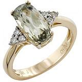 14K Gold 12x6mm Zultanite & Diamond Ring www.theshoppingchannel.com  #ilovetoshop
