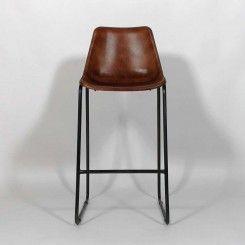 Tabouret de bar industriel, design, métal - Made in meubles                                                                                                                                                                                 Plus