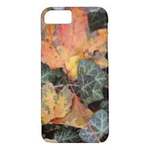 Colorful Autumn Leaves iPhone 7 Case