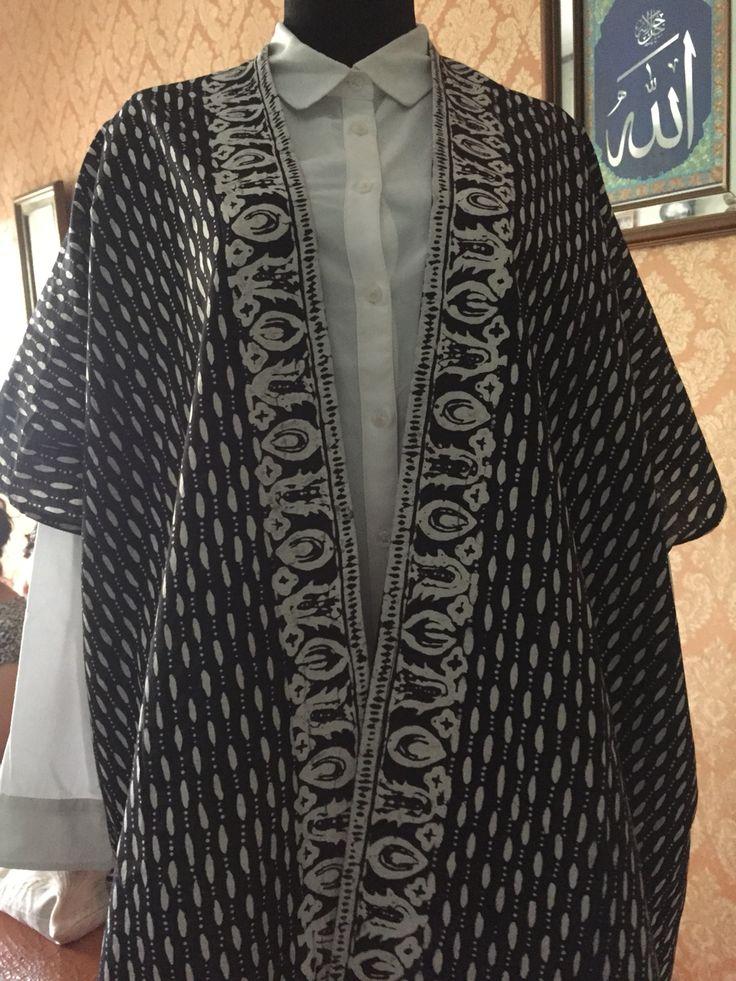 black pearl batik outer
