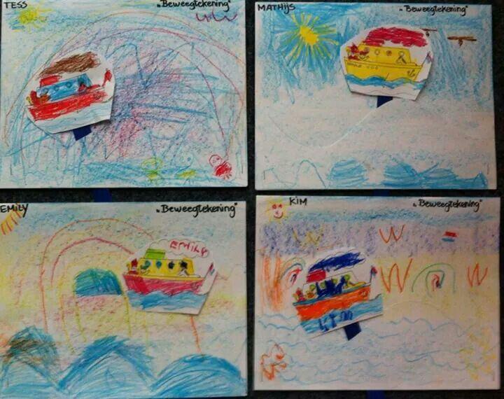 Meer dan 1000 idee n over boot schilderij op pinterest boot kunst schilderijen en zeilboot - Babykamer schilderij idee ...
