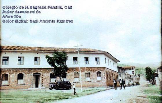 Cali, Colegio la Sagrada Familia, años 30s