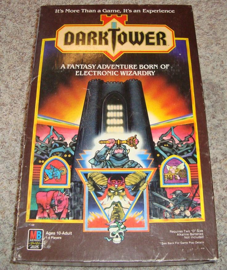 Dark Tower Board Game Oh... the memories!