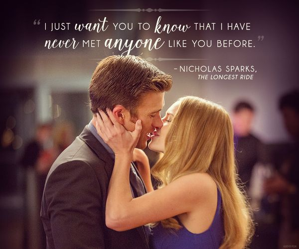 quote from the longest ride movie - Google Search