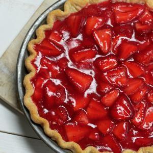 Classic Strawberry Pie   MyRecipes.com