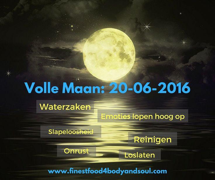 Happy Full Moon! Deze volle maan gaat samen met de zonnewende gepaard gaande met emoties die hoog kunnen oplopen, slapeloosheid, onrust en de behoefte om los te laten. Enjoy! #vollemaan20juni2016 #FF4BS #zonnewende2016