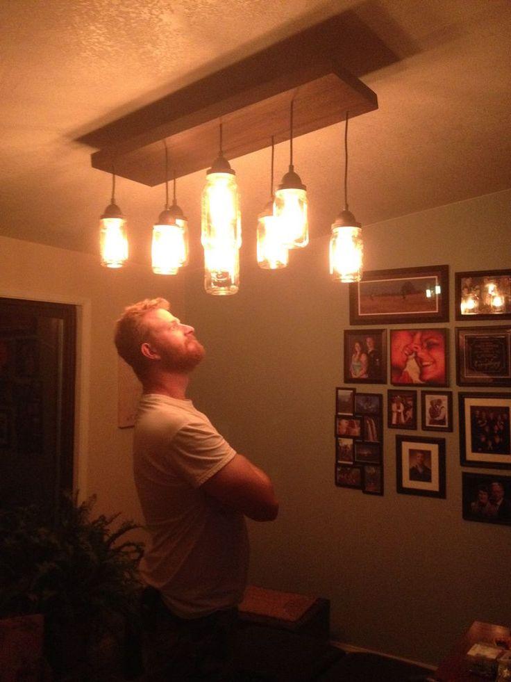 17 Best Images About Mason Jar Lighting On Pinterest