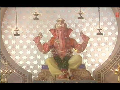 Om Gang Ganapataye Namah - semi classical Marathi Ganesh abhang (bhajan) by Ajit Kadkade from the album Naache Ganeshu - old video recording