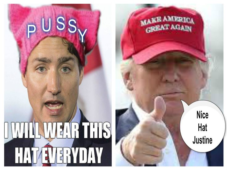 Hats, Who wore it better #canpoli