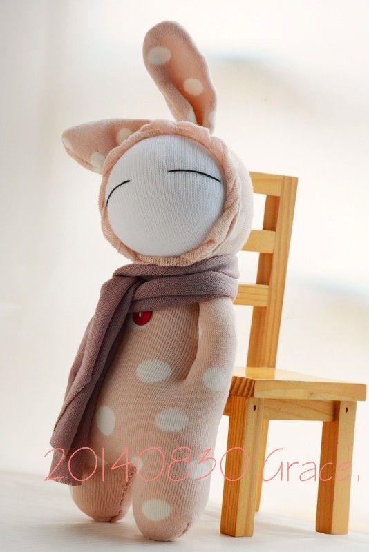 sock doll …