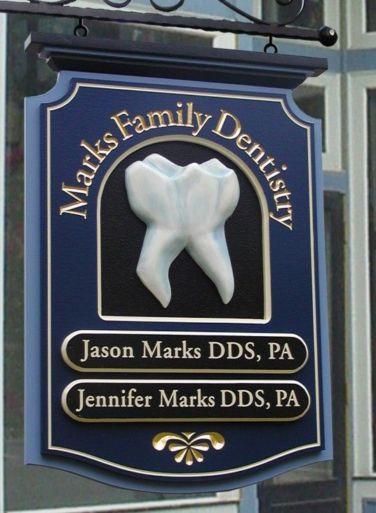 Marks Family Dental Sign | Danthonia Designs