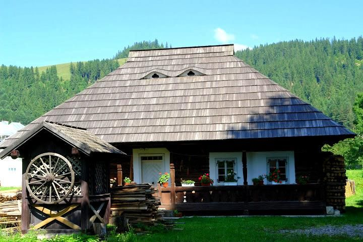 Traditional house, Bucovina, Romania