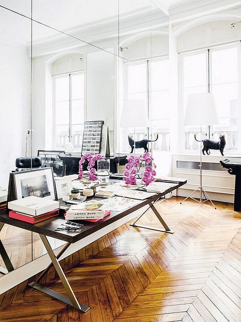 www.thisisglamorous.com | At Home With : Gaia Repossi, Paris by {this is glamorous}, via Flickr