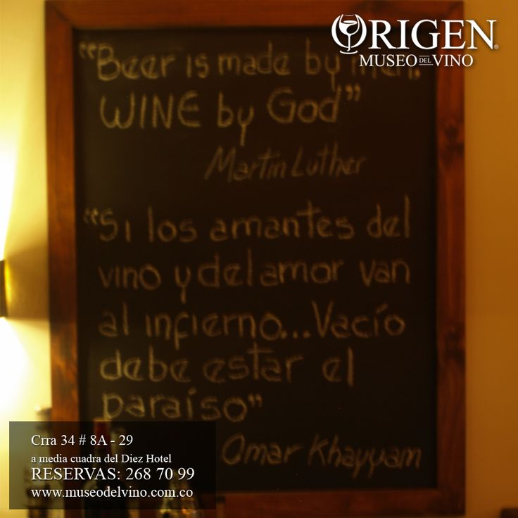 ORIGEN - Museo del Vino