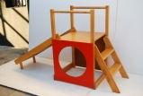 "Adorable Modernist ""Creative Playthings"" Childrens Slide/Fort at 1stdibs"