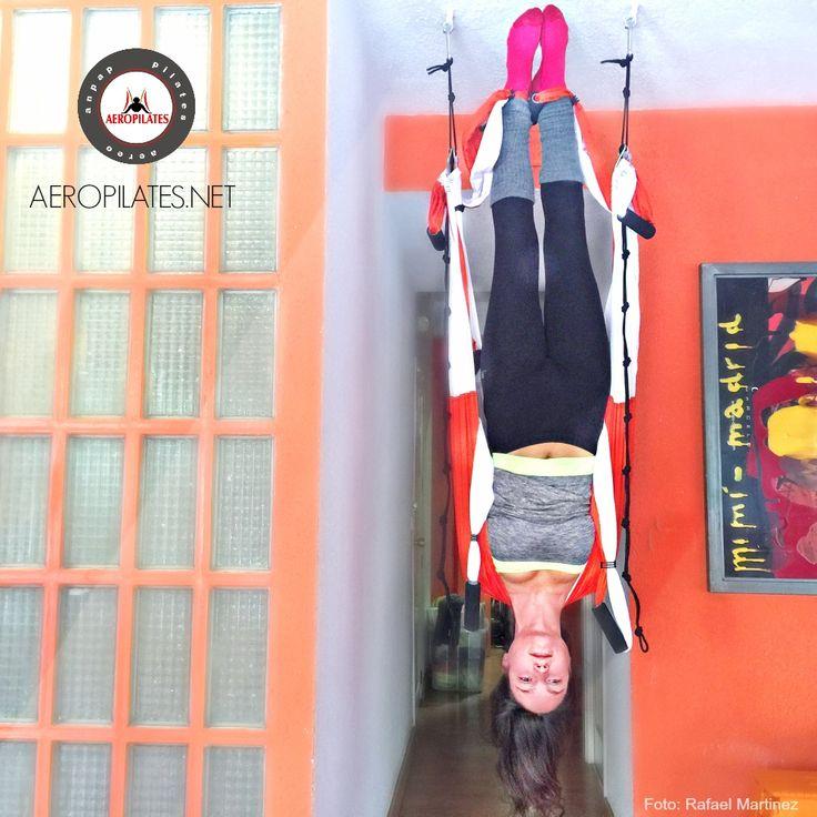 Yoga Aérien by AeroYoga® International, marque deposée au Canada