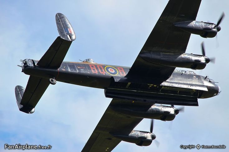 Avro 683 Lancaster B1 - PA474 / HW-R. Battle of Britain Memorial Flight, Duxford - EGSU, 30.06.2012.