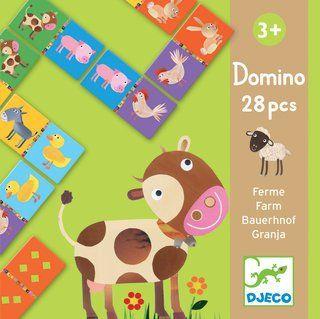 Djeco Farm Dominos (28 pc)