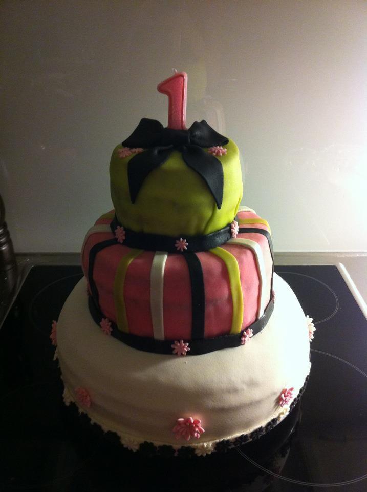 My first 3 storey cake