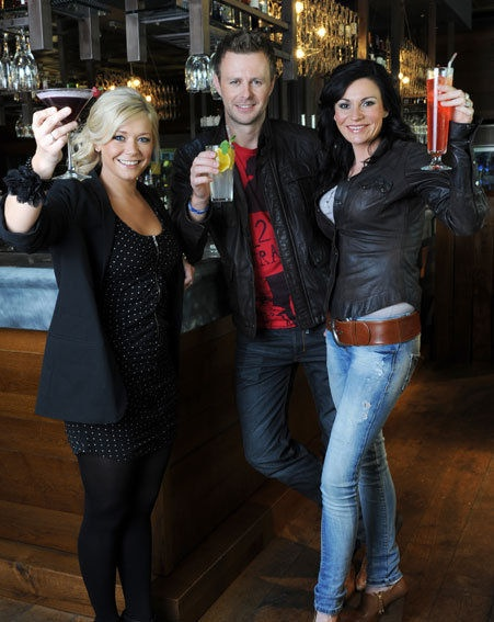 Suzanne Shaw, Tom Lister, Lucy Pargeter