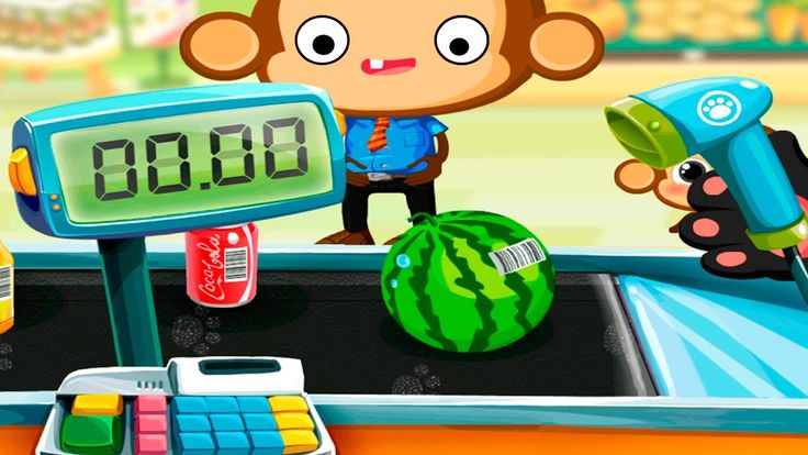 Kids Learn Have Fun Numbers and Money | Dr. Panda Supermarket Kids Games
