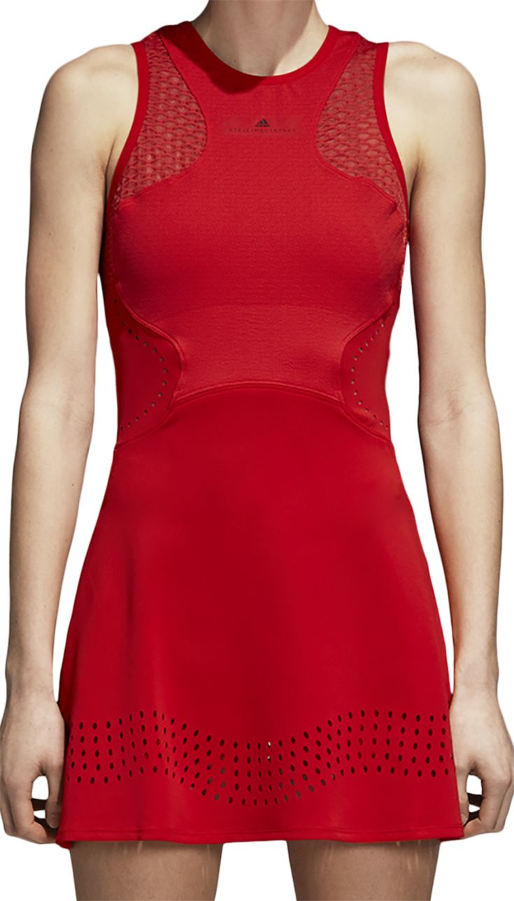 Play In Cool Style And Comfort In The Women S Adidas Stella Mccartney Barricade Tennis Dress This Dr Stella Mccartney Tennis Dress Tennis Clothes Tennis Dress
