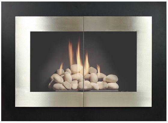 13 best Modern Fireplace Doors images on Pinterest ...