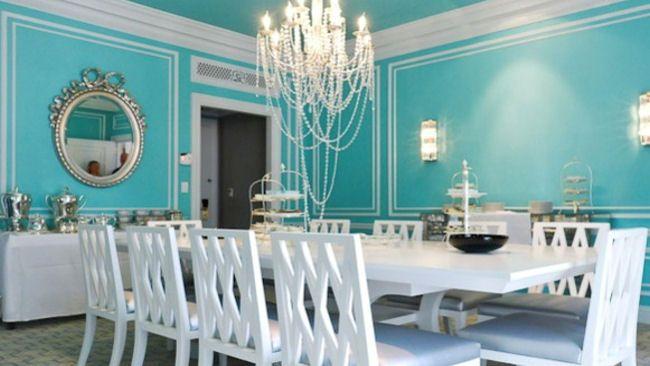 tiffany blue bedroom ideas    Suite Dreams: The St. Regis New York Unveils Tiffany Suite