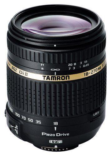 Tamron 18-270mm F3,5-6,3 Di II VC PZD Obiettivo digitale super-zoom motorizzato per fotocamere reflex Nikon Aps-c di Tamron, http://www.amazon.it/dp/B004FLJVYQ/ref=cm_sw_r_pi_dp_EoUjsb0X984CQ