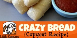 Little Caesars Crazy Bread Copycat Recipe