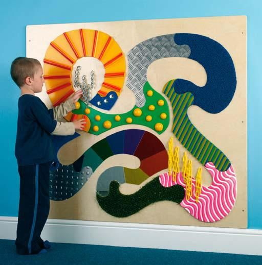 Love This Tactile Panel Sensory Fun For Kids Pinterest