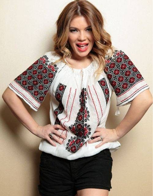 """Romanian Traditional blouse """"IE"""""""