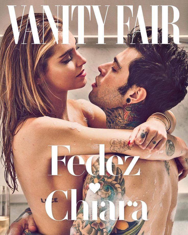 Chiara Ferragni and Fedez for Vanity Fair Italia March 8, 2017