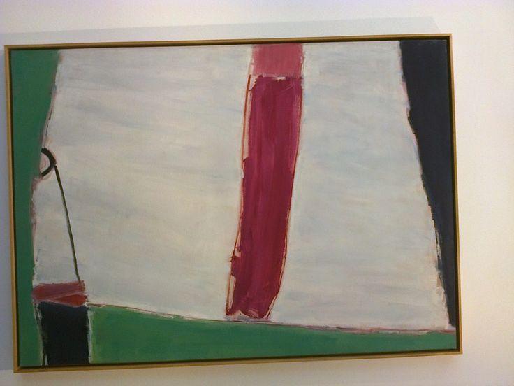 Litoral. José Guerrero. 1979. Óleo sobre lienzo, 176 x 126 cm.