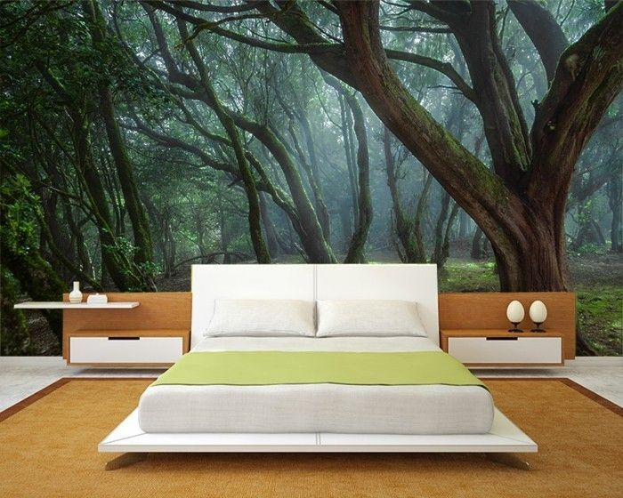 Wanddeko Schlafzimmer Wie Ein Wald Schlafzimmer Ideen