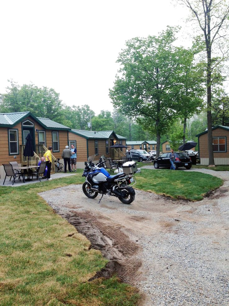 Part of our Deluxe #Cabin village at #TWKOA  #KOA #Camping #Glamping #CampingInCandada #Vacation #Getaway #GTA #CampbellvilleON #MiltonOn